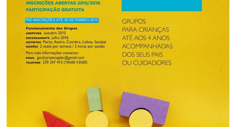Aprender Brincar Crescer – Promover a interação entre pais e filhos, inscrições gratuitas